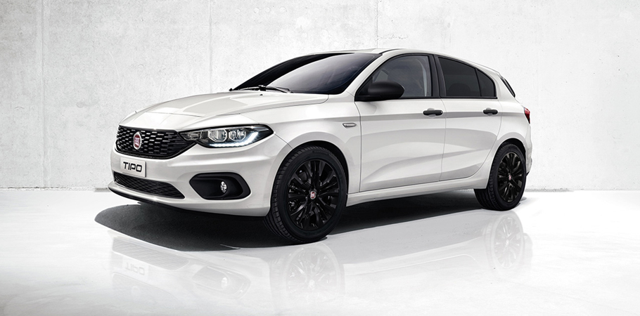 The New Tipo Mirror and Street enrich the Fiat Tipo Range